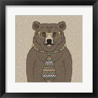 Framed Bear-man