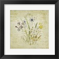 Framed Flower Print Four