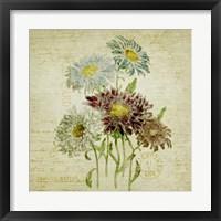 Framed Flower Print One