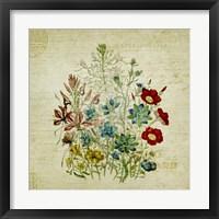 Framed Flower Print Two