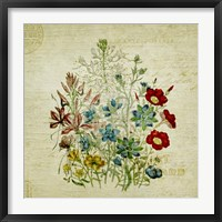 Framed Flower Print Two