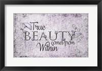 Framed True Beauty