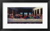Framed Very Last Supper