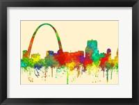 Framed Gateway Arch St Louis Missouri Skyline-SG