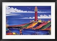 Framed Lighthouse Bay