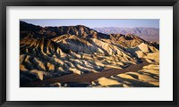 Framed Zabriskie Point, Death Valley, California