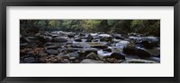 Framed Rocks in a River, Great Smoky Mountains National Park, Tennessee