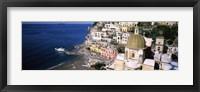 Framed Positano, Amalfi Coast, Salerno, Campania, Italy