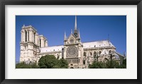 Framed View of the Notre Dame, Paris, Ile-De-France, France