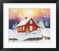Framed Christmas Eve Magic