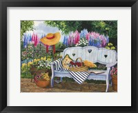 Framed Garden Bench