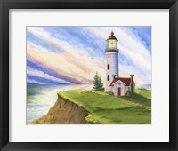 Framed Lighthouse Dreams