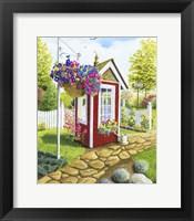 Framed Langley Garden Shed