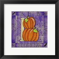 Framed Halloween B