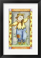 Framed Mr Scarecrow
