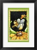Framed B Buzzbee