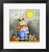 Framed Scarecrow and Friends
