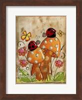 Framed Ladybug Friends
