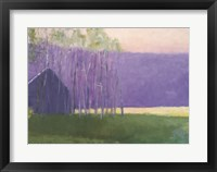 Framed Barn in a Soft Light, 2002