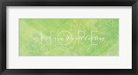 Framed Watercolor Hope