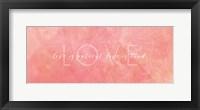 Framed Watercolor Love