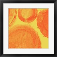 Framed Orange on Yellow