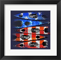 Framed Flag Kayaks
