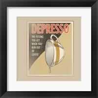 Framed Depresso