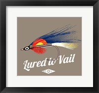 Framed Lured to Vail