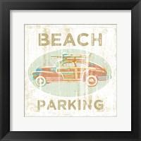 Framed Beach Parking