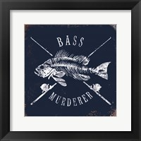 Framed Bass Murderer