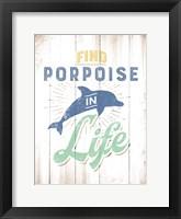Framed Porpoise