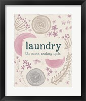 Framed Laundry III