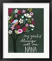 Framed Nana