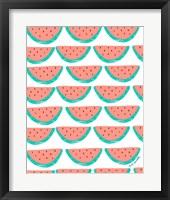 Framed Watermelon Wallpaper