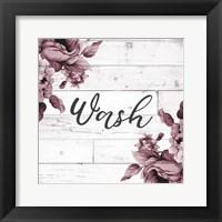 Framed Wash Script