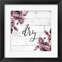 Framed Dry Script