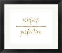 Framed Progress Over Perfection