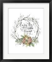 Framed Little Things Wreath