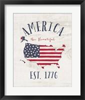 Framed Est 1776
