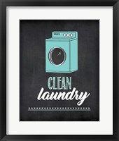 Framed Clean Laundry