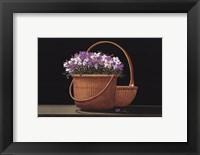 Baskets of Nantucket Framed Print