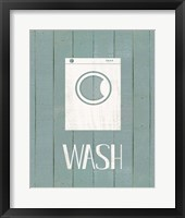 Framed Wash House Wash