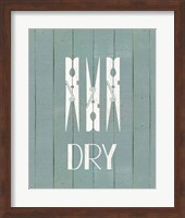 Framed Wash House Dry