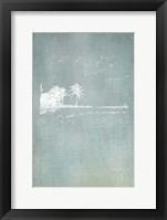 Framed Beach Palm II