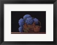 Nantucket Blue Framed Print