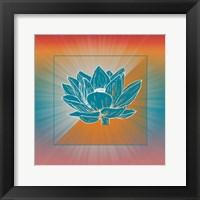 Framed Lotus Blossom