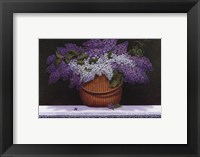 Framed Lilacs of Nantucket