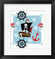 Framed Ahoy Pirate Boy I