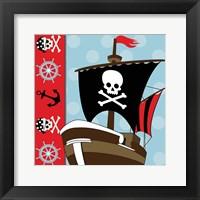 Framed Ahoy Pirate Boy V